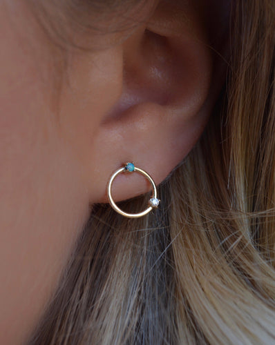 Becca Orb Earrings - ShopEmie