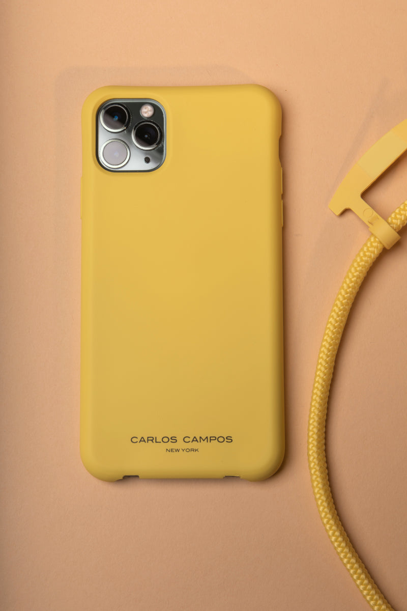 Yellow iPhone 11 Pro Max Silicone Case