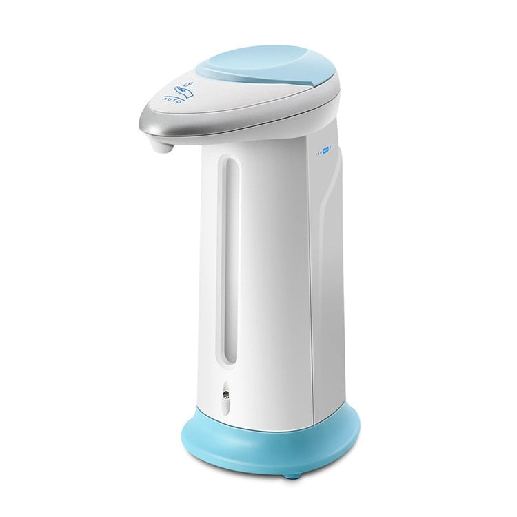 Touchless 400ML Automatic Smart Soap Liquid Dispenser Infrared Motion Sensor Pump for Bathroom and Kitchen