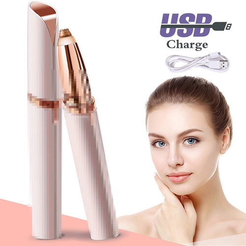 USB Charging Electric Eyebrow Hair Trimmer