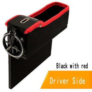 Car Seat Crevice Organizer Gap pocket Storage bag Box Cup Holder