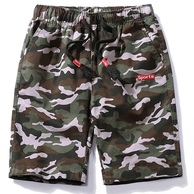 Men Camouflage Casual Shorts
