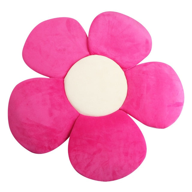 Newborn Folding Blooming Flower Bath tub Mat