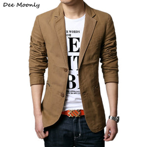 Men Slim-Fit Blazer
