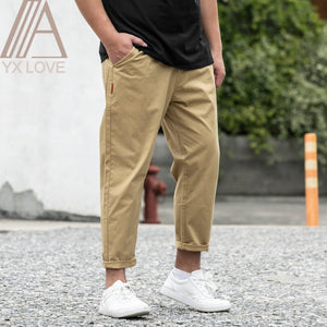 100% Cotton Men Ankle Pants