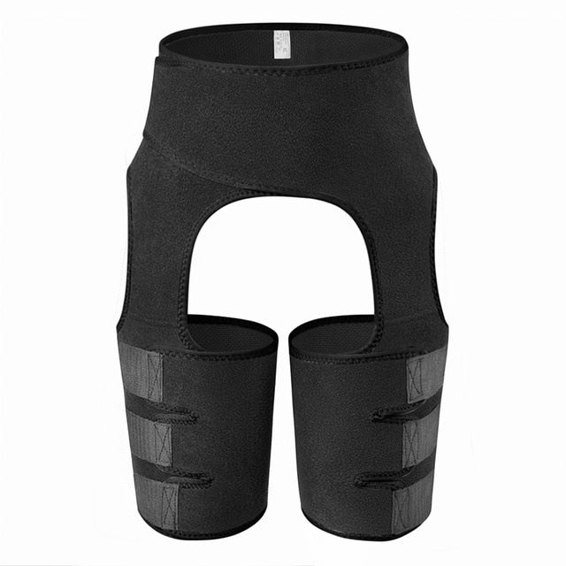 Women Neoprene Waist Trainer & Thigh Trimmer Sweat Shapewear