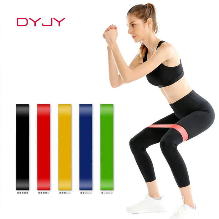 Gym Fitness Resistance Bands Yoga