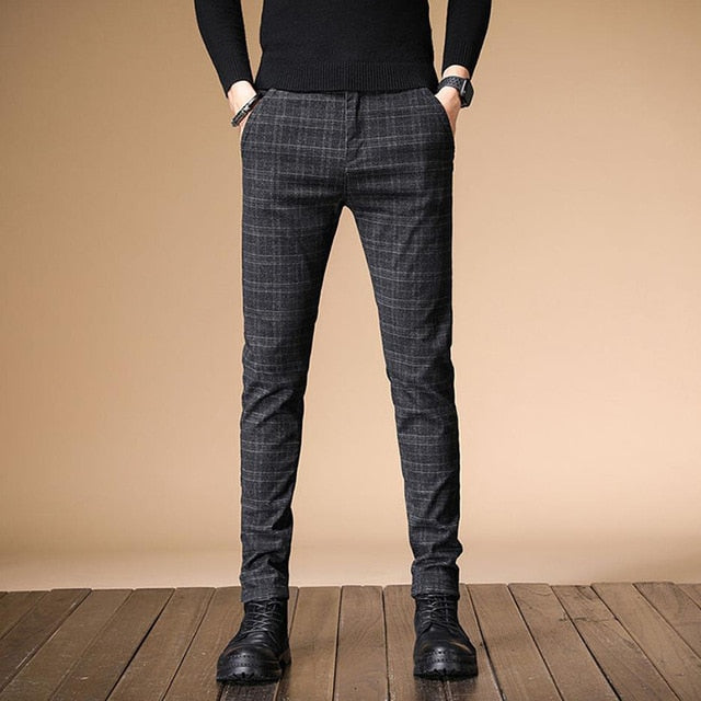 Autumn Upscale Men Casual Pants
