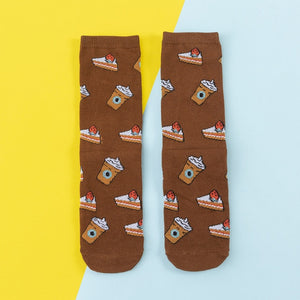 Colorful Women's Cotton Socks