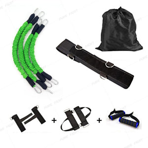 Workout Power 140lbs Resistance Band Boxing Endurance Agility Pull Rope Crossfit Rubber Band Basketball Training Resistance Rope