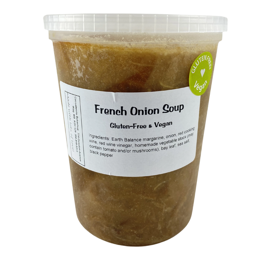 Frozen Soup - Chef's Choice - Cocoabeans Gluten-Free