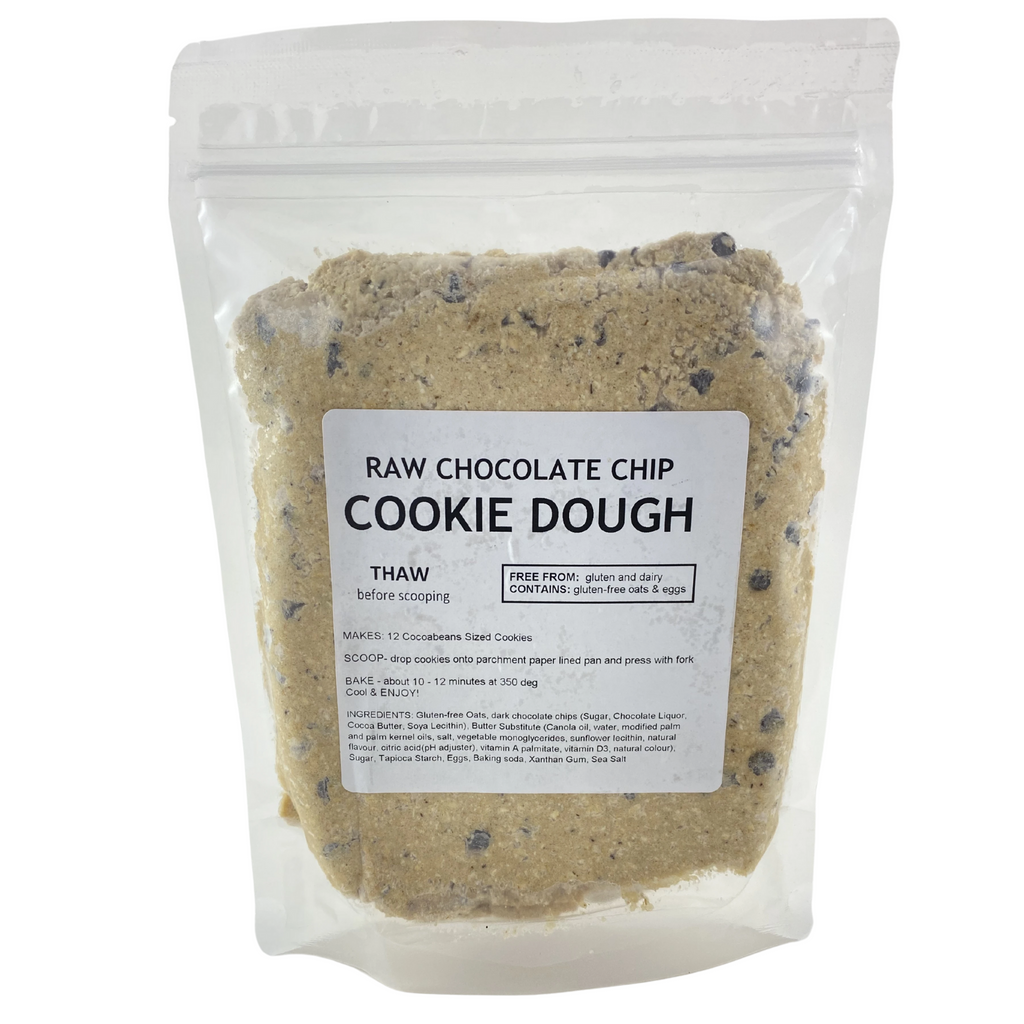 Frozen Cookie Dough - Cocoabeans Gluten-Free
