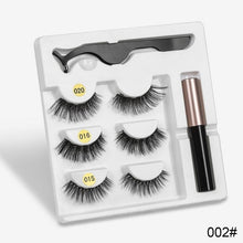 Load image into Gallery viewer, StyleBeauty™ Magnetic Eyelash 3pc Set with Magnetic Eyeliner - The Style Beauty