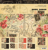 LOVE NOTES by GRAPHIC 45  - 12x12 COLLECTION PACK - VALENTINES - WEDDINGS