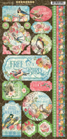 BIRDWATCHER COLLECTION by GRAPHIC 45-   ACCESSORIES ONLY - New !