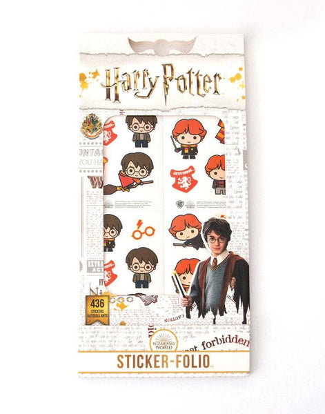 HARRY POTTER - CHIBI  FOLIO  Stickers -  New !!  436 Stickers ! !!    STF0007 Paperhouse !  Easter Basket Stuffer !!