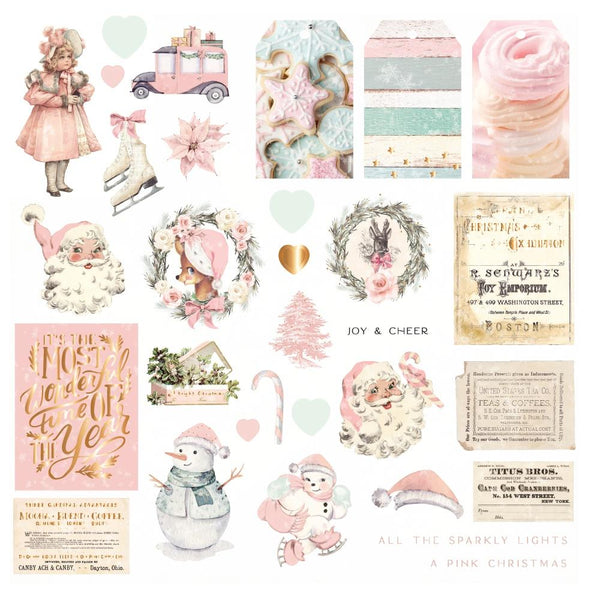 CHRISTMAS SUGAR COOKIE EPHEMERA Pack  by PRIMA - COLLECTION !!  BRAND NEW !!  NOW IN STOCK !