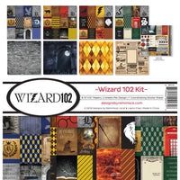 WIZARD 102 by REMINISCE - HARRY POTTER THEME PAPER PACK