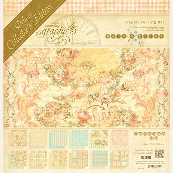 BABY TO BRIDE  - GRAPHIC 45 12x12 DCE COLLECTION   New !!