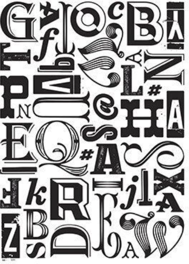 ALPHABET NEW !!  ABC LETTERs JUMBLED New for 2020 ~   Darice A2  EMBOSsING FoLDeR -
