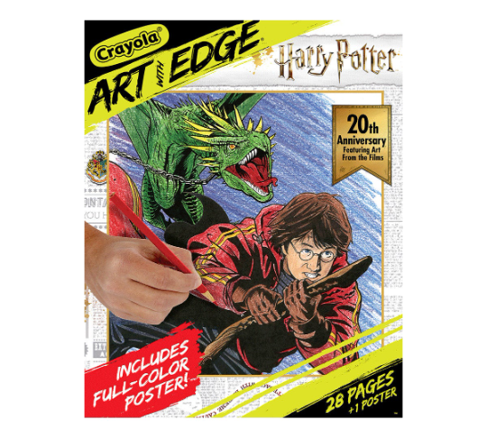 HARRY POTTER COLORING BOOK - ANNIVERSARY EDITION !!  RARE !!