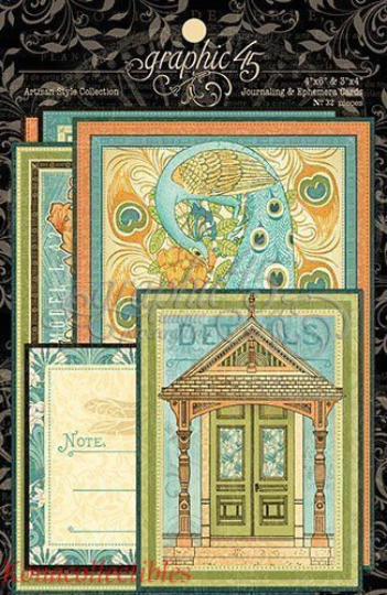 ARTISAN STYLE by GRAPHIC 45 - EPHEMERA CARDS - LAST ONE !!