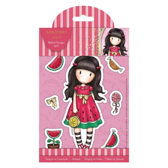 GORJUSS GIRLS - SUMMER STORY - Regular Stamp Set