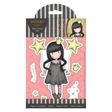 "GORJUSS GIRLs "" LOVE HEART  ""  STAMP SET ~ Regular Size ~  New !!  from DOCRAFTs  SANTORO"