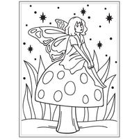 FAIRY on a MUSHROOM - EMBOSSING A2-   Darice A2  EMBOSsING FoLDeR - So cute !!