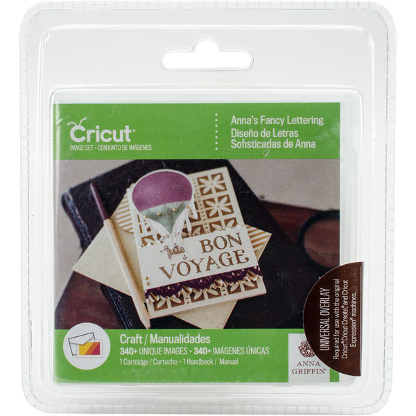 ANNAs FANCY LETTERING by ANNa GRiFFIN for - CRICUT Cartridge  - NeW !! SEALeD in Pkg. - 4 FONTs !!