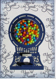 CANDY MACHINE HANDLEs 12 Pk.  by Susan Wilson for Creative Expressions  - KINETIC Die Set - Moveable !!