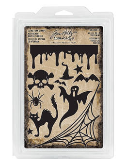sALE !! HALLOWEEN STAMPs  by TIM HOLtZ -   New !!   IDEA-oLOGY item for HaLLOWEEN !!