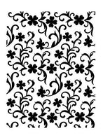 CLOVER GARDEN by ULTIMATE CRAFTs Embossing Folder A2  - Imported and Rare !  St.Patricks Day Clover ! #157197