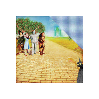 WIZARD of OZ -  12x12  Set of 7  CARDSToCK SHEETs  - Wizard of Oz Movie Theme  - Retired !!