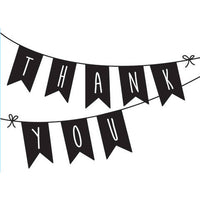 THANK YOU SWAGs  EMBOSSiNG FoLDER -  New !!  by Darice  A2  -  BANNERS -