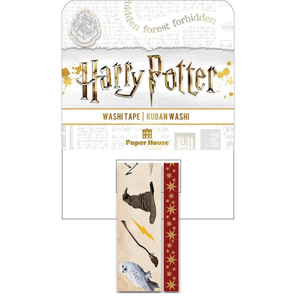 HARRY POTTER ICONs WASHI TAPEs  -  by Paper House-  Collector's Edition Set  - Limited Edition !! New !!