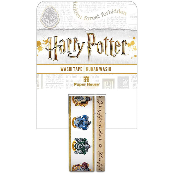 HARRY POTTER HOUSE CRESTs  -  WaSHI TAPEs  -  by Paper House-  Collector's Edition Set  - Limited Edition !! New !!