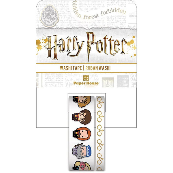 HARRY POTTER CHiBi  WASHI TAPEs  -  by Paper House-  Collector's Edition Set  - Limited Edition !! New !!