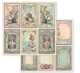 ALICE STAMPS by STAMPERIA -  STAMPs Only !  Classic  Collection - Retired & Rare - Last One !