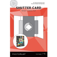 PHOTO PLAY SHUTTER CaRD kIT with CiIRCLE DiE INCLUDeD -  PPP9456