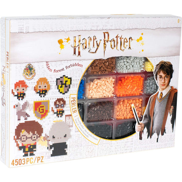 HARRY POTTER PERLER BEADs FuSION  Set -4503 Pieces !!  - 19 Patterns !! Last One !