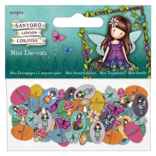 "GORJUSS Die CUTs for "" FAIRIE FOLKS "" STAMPs Set by Santoro of London -  Gorjuss Girls 2020 - New !!"