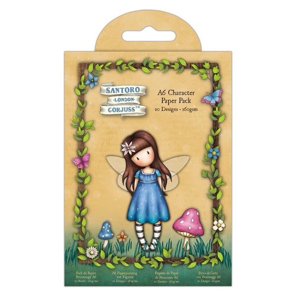GORJUSS FAIRIE FOLKs  CHARACTER Pack  A6- Ephemera Cards of Characters  20 per pack - New !! 2020