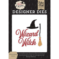 WITCHES & WIZARDS by Echo Park -STAMPS and DIEs -  Choose Option -  Harry Potter Theme !!  New - Kids Scrapbooking !