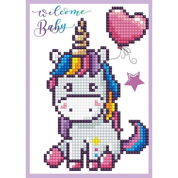 DIAMOND DoTZ - WELCOME BABY Card Kit -  All New !!