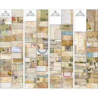 JOURNAL CARDS  by Tim HOLTZ  - Pkg. of 100 Die cuts !!  New and In Stock Now !! Th93957