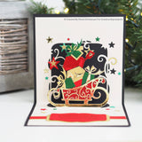 BOUNTIFUL SLEIGH - CHRISTMAS  PoP-Up CARDs  CUTTiNG  DIEs by Creative Expressions  -  CHRISTMaS Cards and Gifts