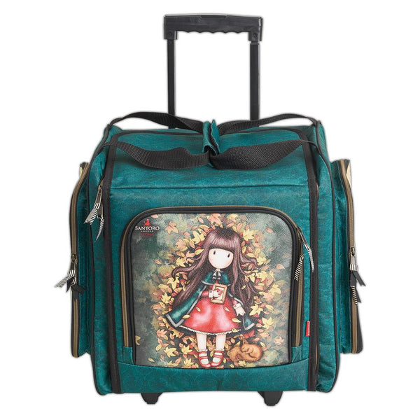 "GORJUSS ROLLiNG TOTE !  "" AUTUMN LEAVEs ""   IN STOCK NOW !! Great Christmas Gift !"