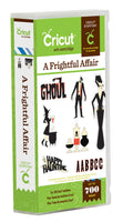 A FRIGHTFUL AFFAIR~ CRICuT CaRTRIDGE   - New and Sealed  - HALLOWEEN THeME - RETIReD