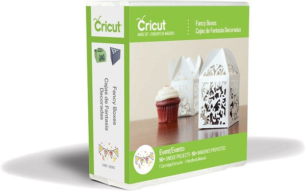 FANCY BOXES CRICUT CARTRiDGE - Last One !!  Retired Physical Cart -  Great Gift Boxes for All Occasions !